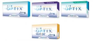 Famille AirOptix - Ciba Vision - Alcon